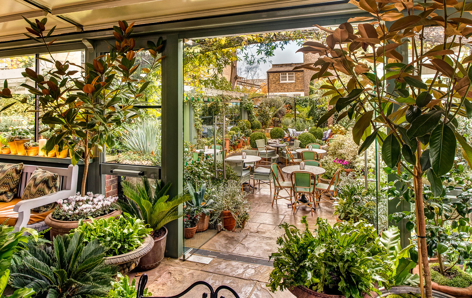 London restaurants with gardens – Ivy Chelsea Garden