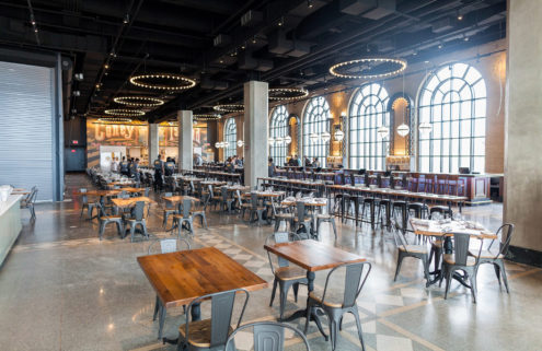 Renovated Coney Island landmark reopens as New York restaurant hub