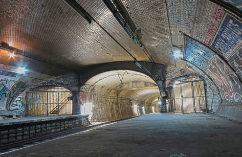 Paris is reviving three of its ghost stations