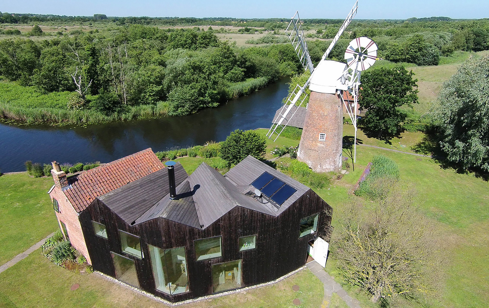 holiday home of the week a revived mill keeper s cottage in norfolk uk