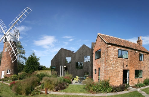 Holiday home of the week: a revived mill keeper's cottage in Norfolk, UK