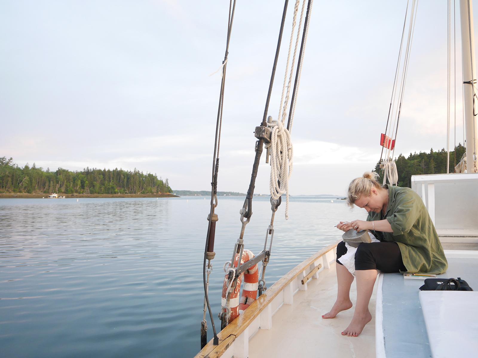 Offshore boat residency
