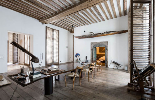 Artist's loft with historic bones hits the market in Paris for €8.9m