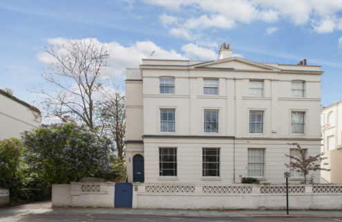 Martin Amis' former London home and writing studio hits the market