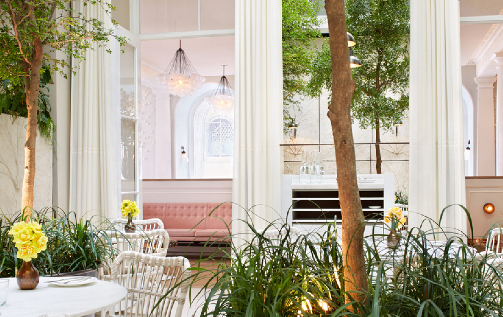 The Spring Restaurant at Somerset House London