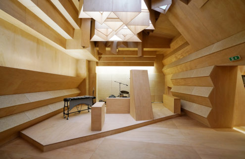 Xavier Veilhan turns the French Pavilion into a recording studio in Venice