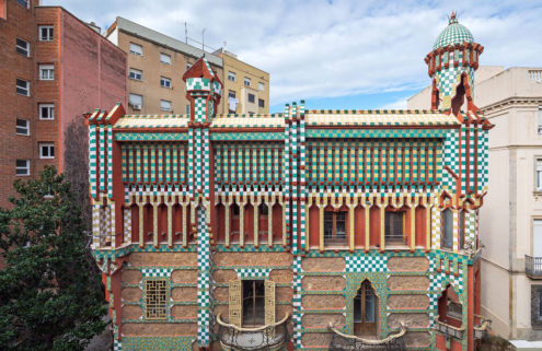 Antoni Gaudí's first house in Barcelona to open as a museum
