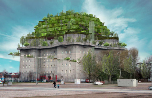 Hamburg WWII bunker to become a 'green mountain'