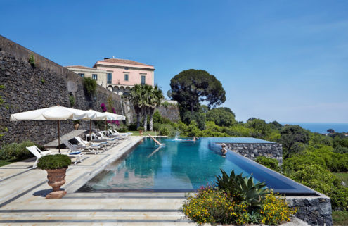 Holiday home of the week: a restored Sicilian villa with majestic views of Mount Etna
