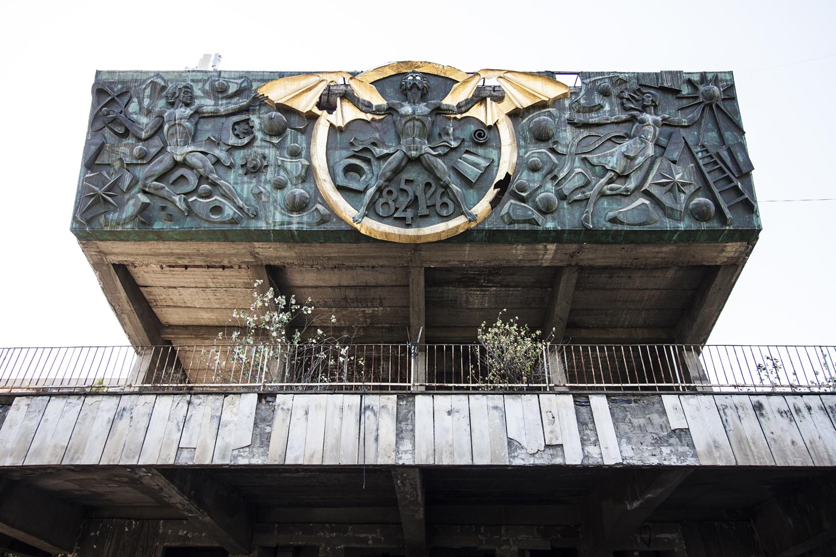 Georgia's Soviet architecture