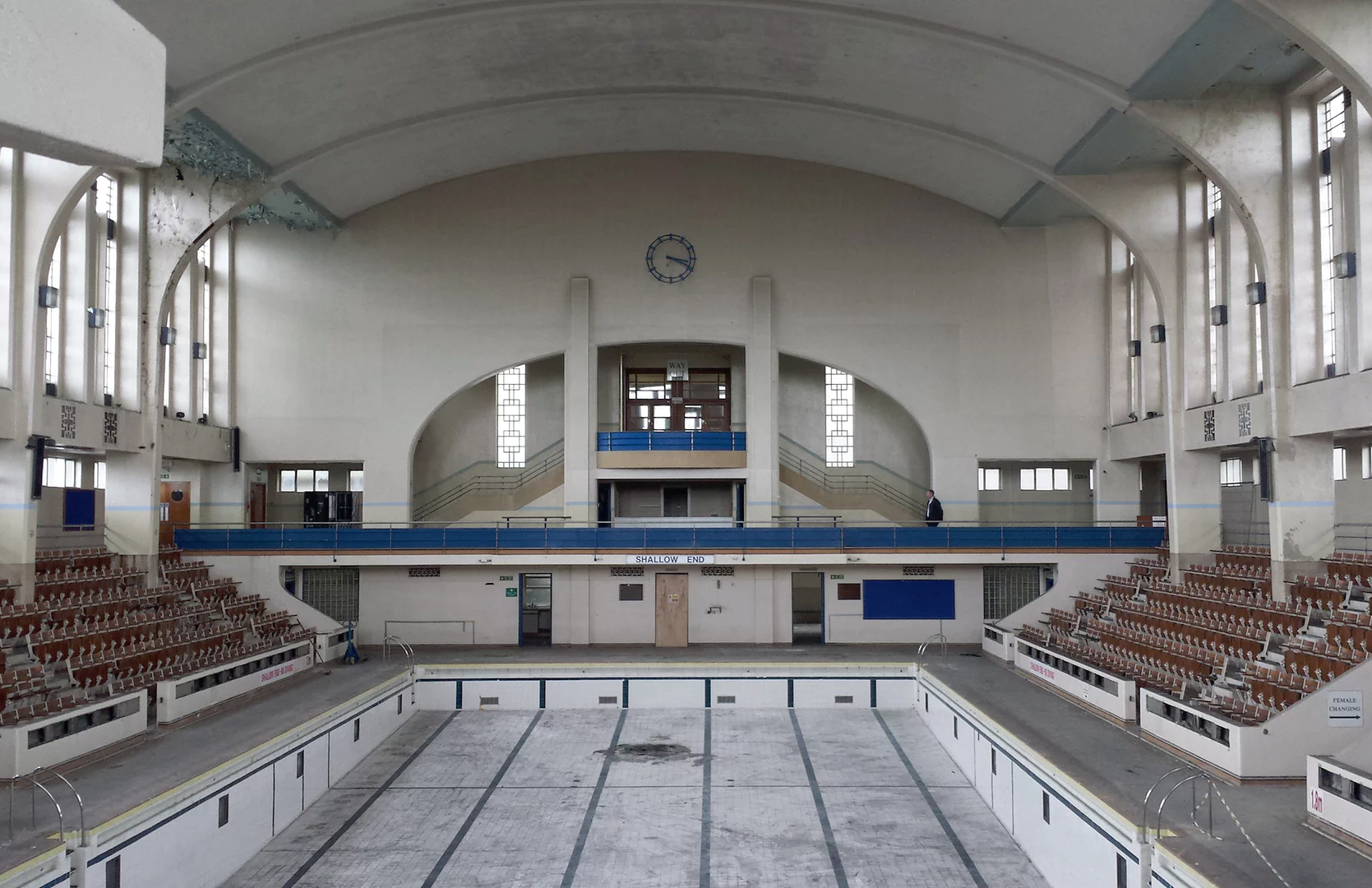 Bon Accord baths in Aberdeen. Photograph: Eveleigh Photography