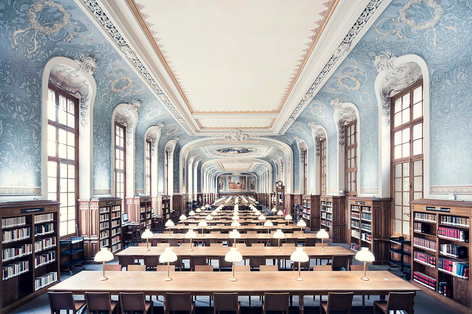 The world's most beautiful libraries: Bibliothèque de la Sorbonne. Photography: Thibaud Poirier