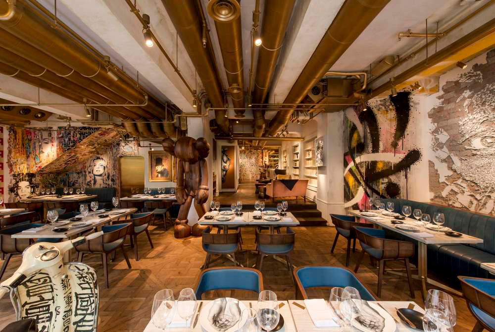 Restaurants with art collections: Bibo