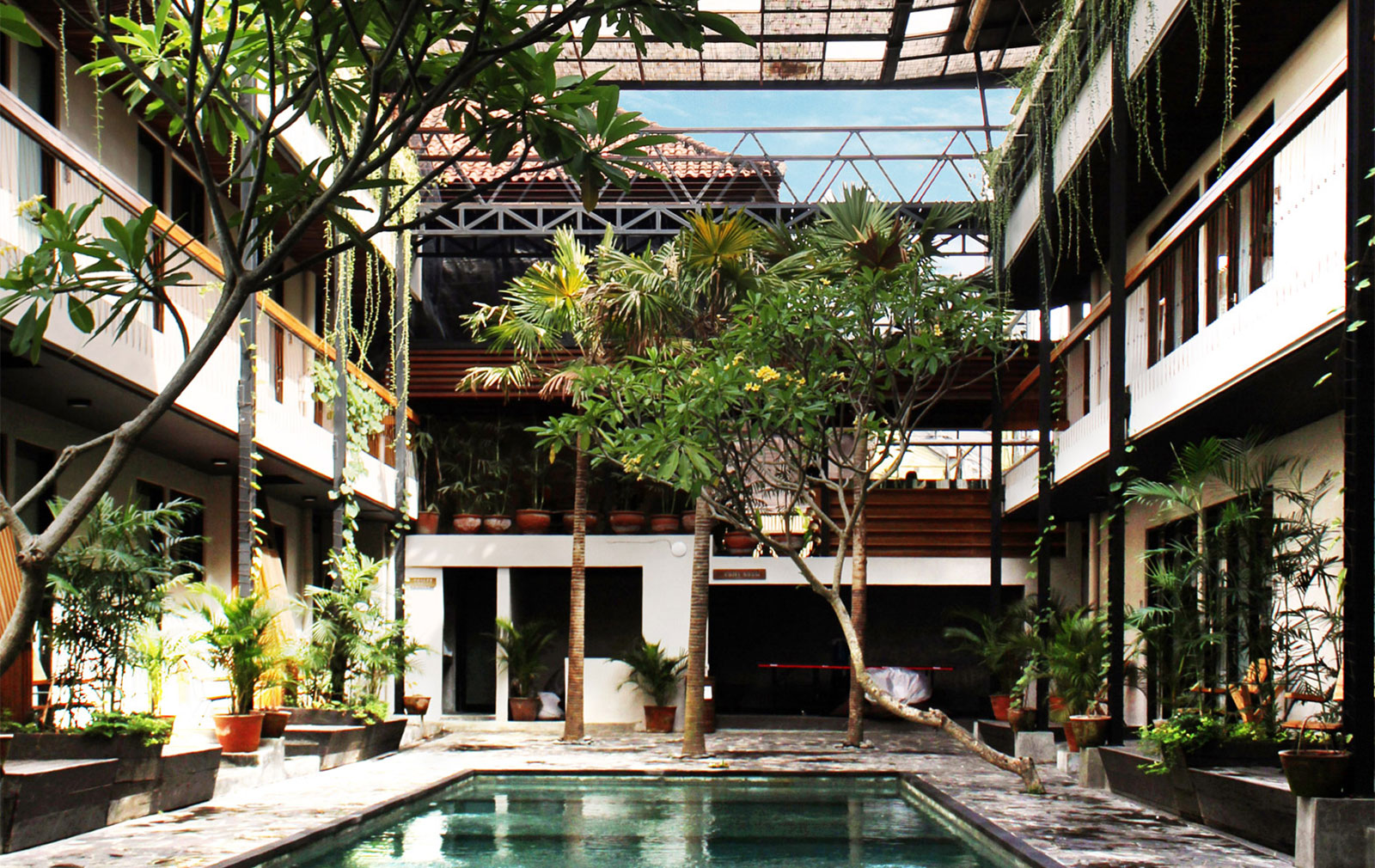 Coworking spaces in far flung locations, including Bali