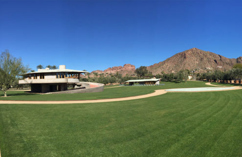 Frank Lloyd Wright house gifted to the School of Architecture at Taliesin