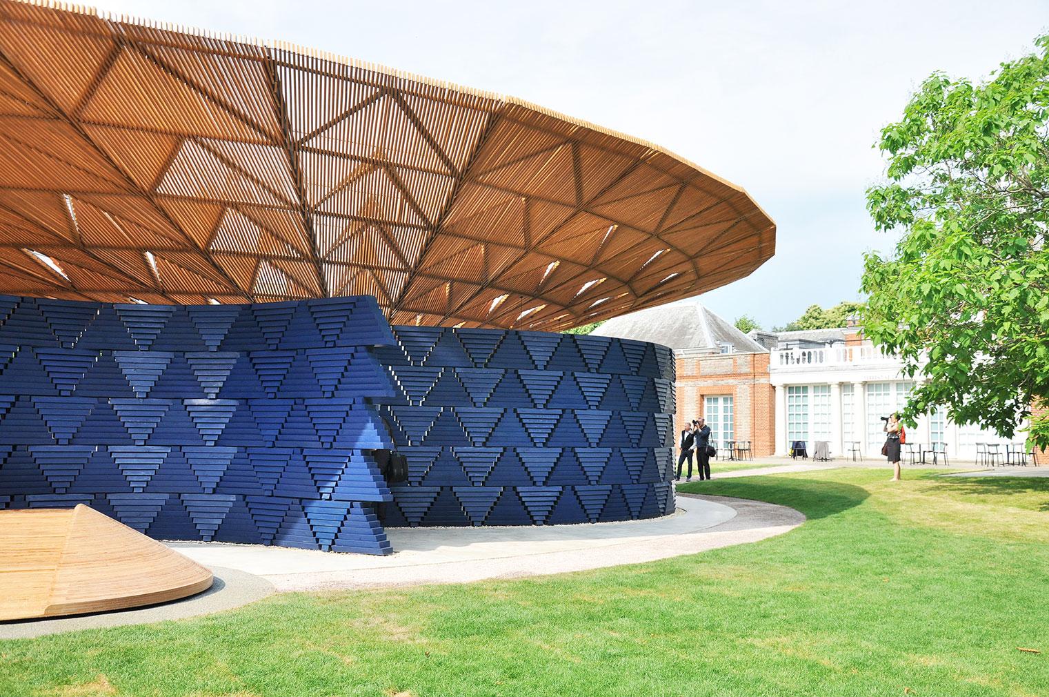 Serpentine Pavilion 2017, designed by Francis Kéré