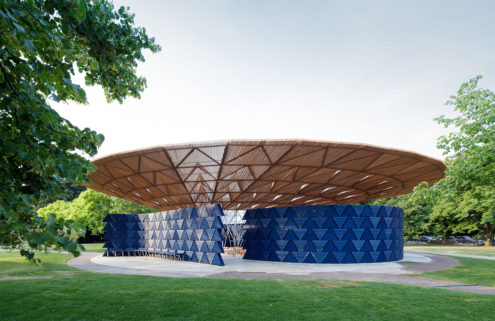 Francis Kéré's Serpentine Pavilion riffs on Britain's obsession with the weather