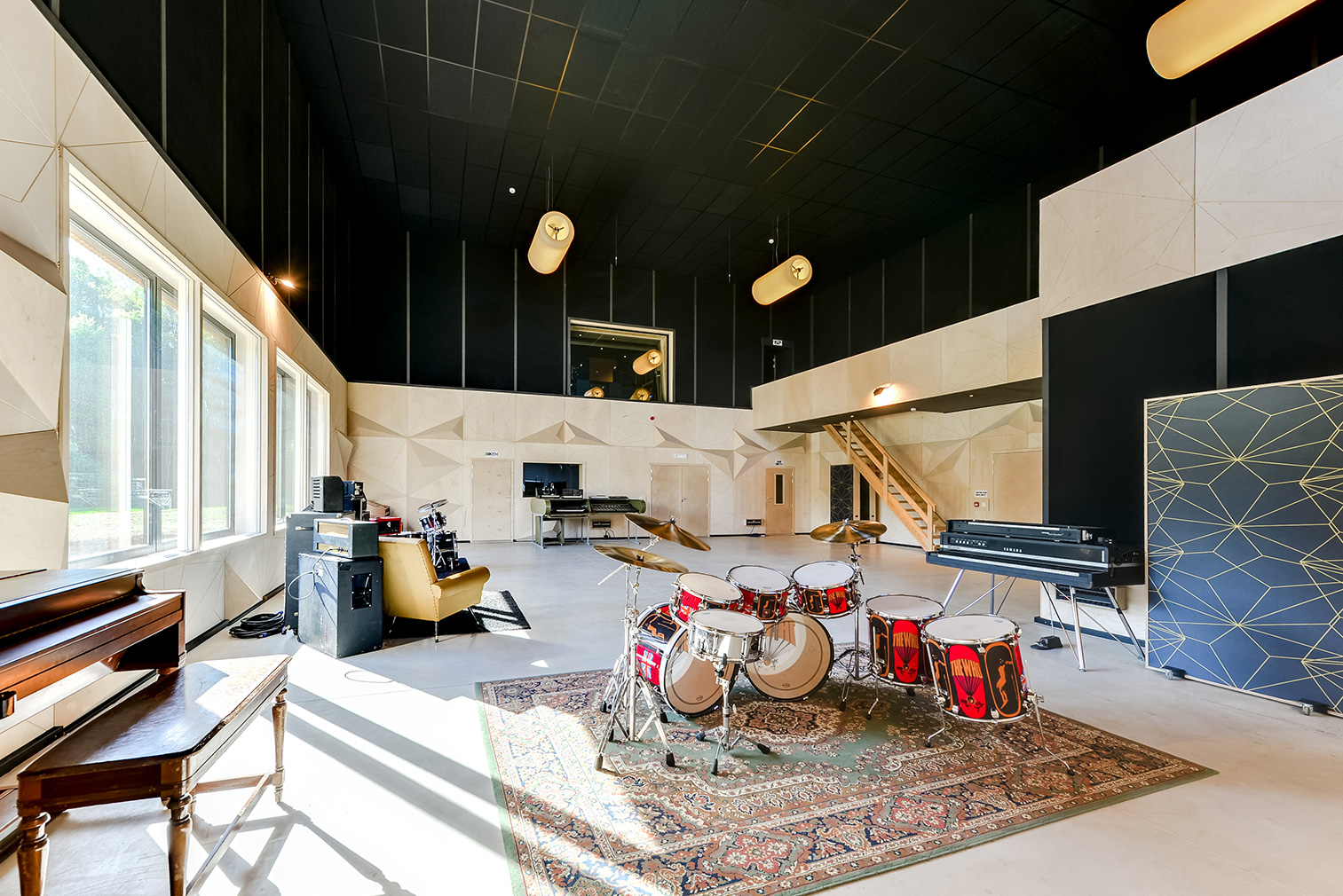 daft recording studios and hotel launch in the belgian ardennes