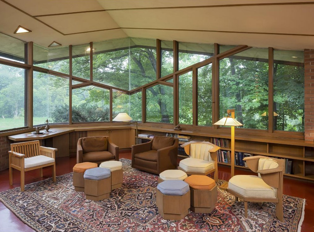 5 Frank Lloyd Wright Houses For Sale