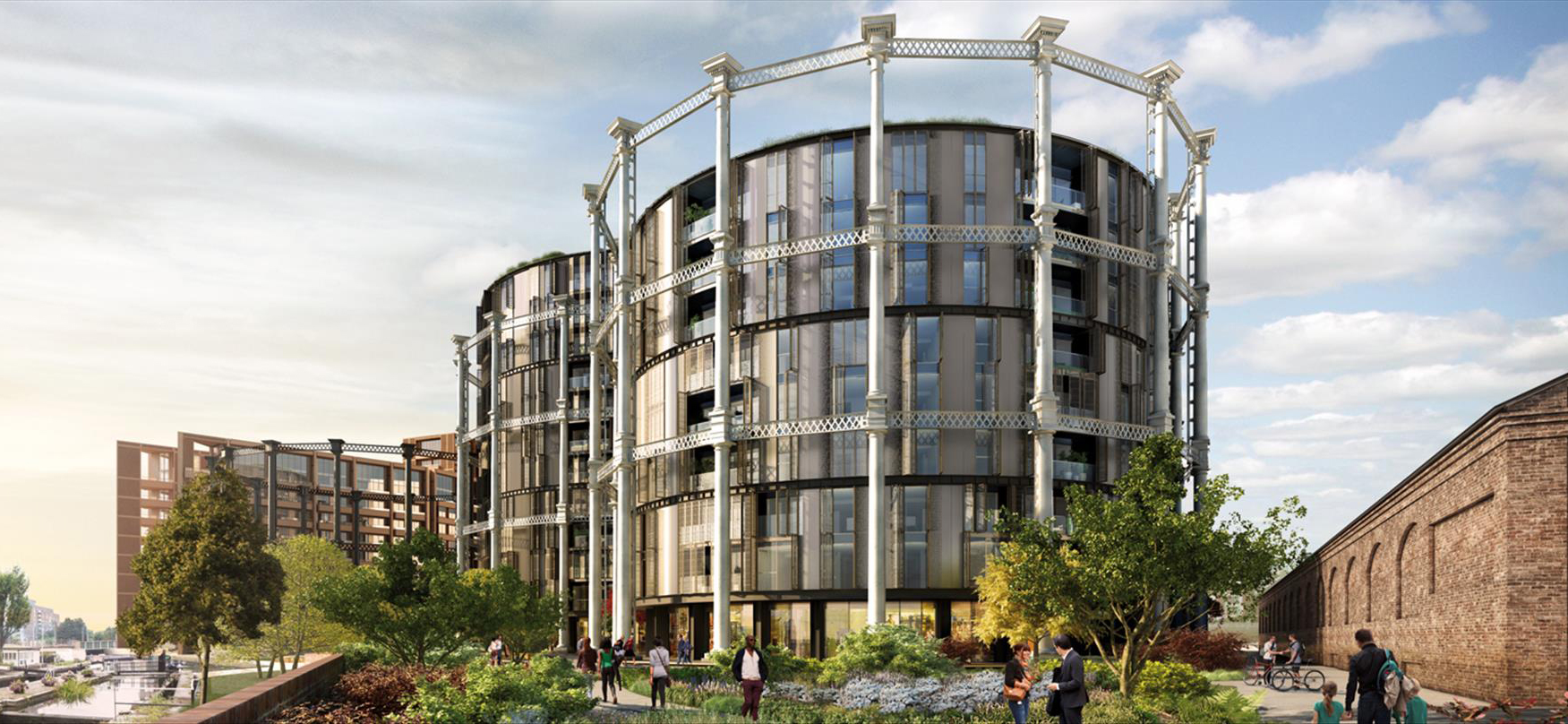 Gasholders apartments - the most unusual London homes for sale right now