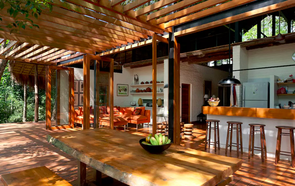 holiday home of the week a jungle hideaway in sri lanka. Black Bedroom Furniture Sets. Home Design Ideas
