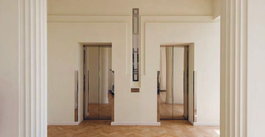 Hoover Building show apartment launch London