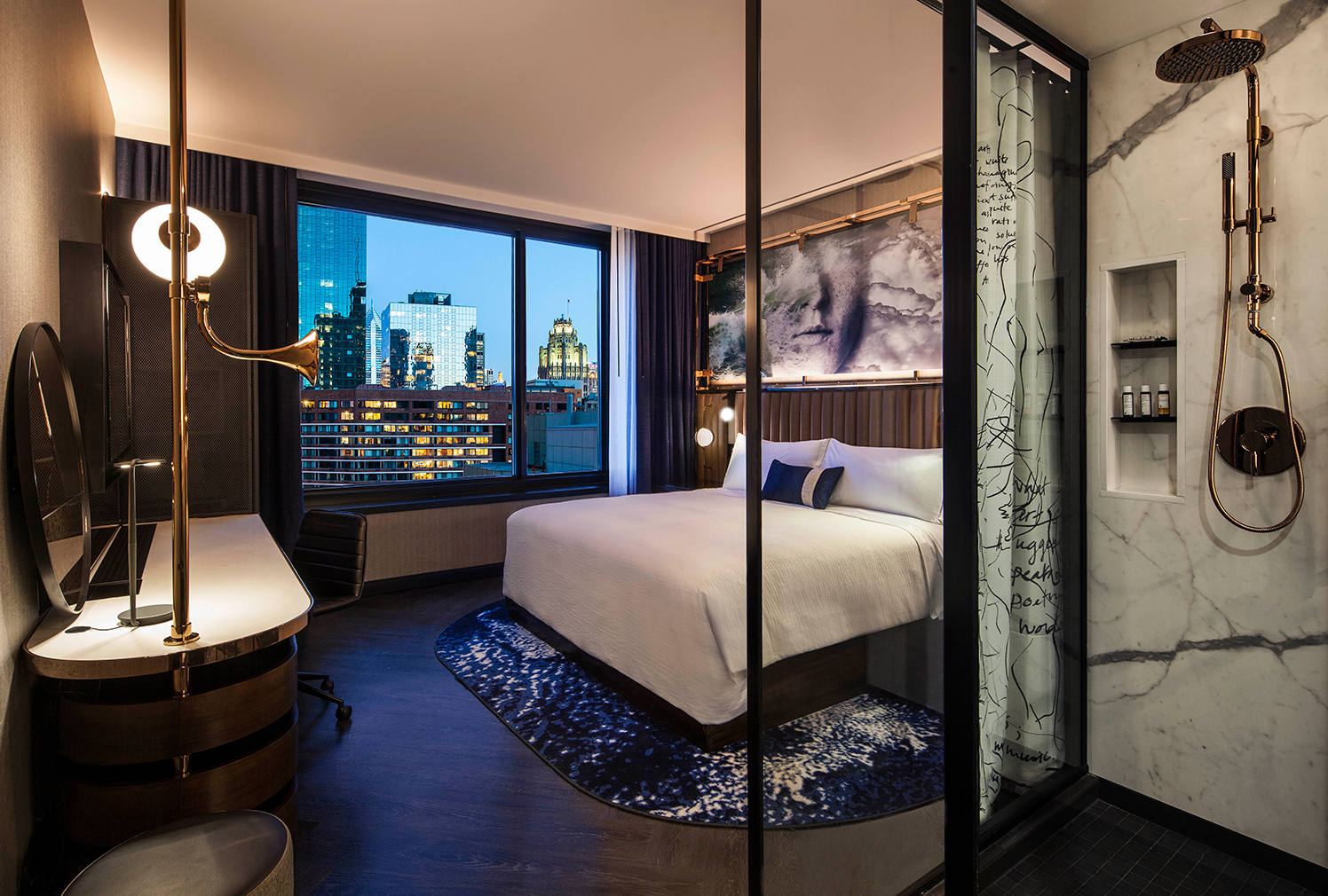 Chicago's Hotel EMC2 has science-themed interiors by ... Emmy Noether