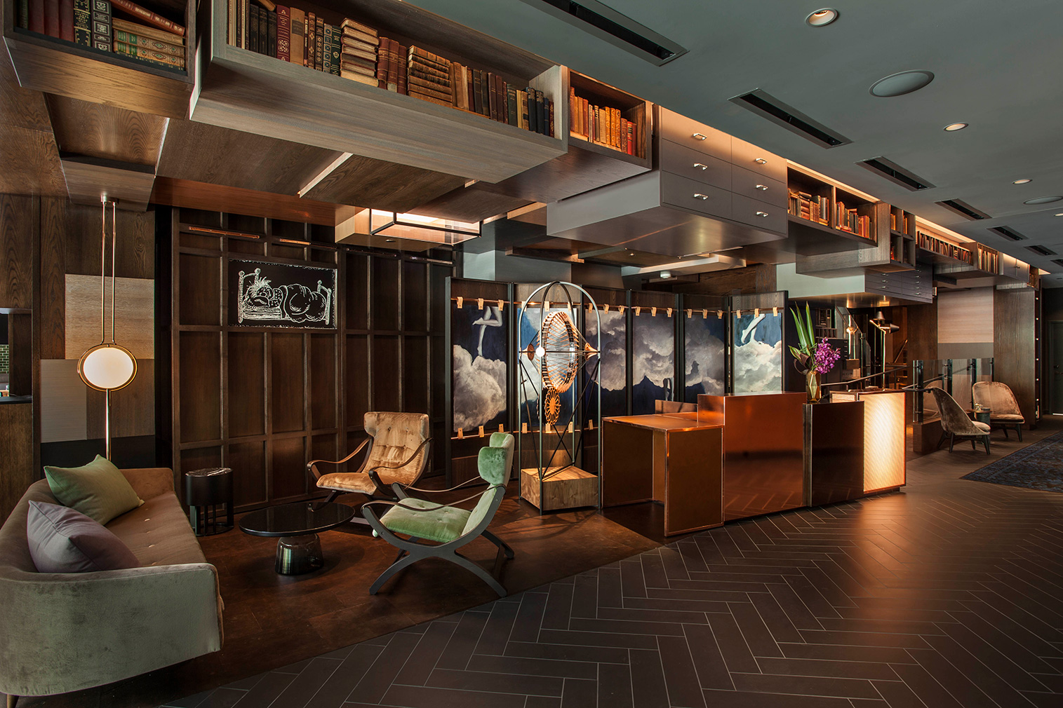 Hotel EMC2 Chicago designed by the Rockwell Group