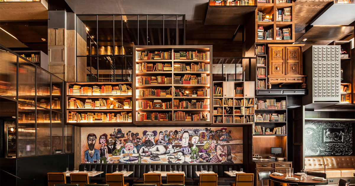 Chicago s hotel emc has science themed interiors by