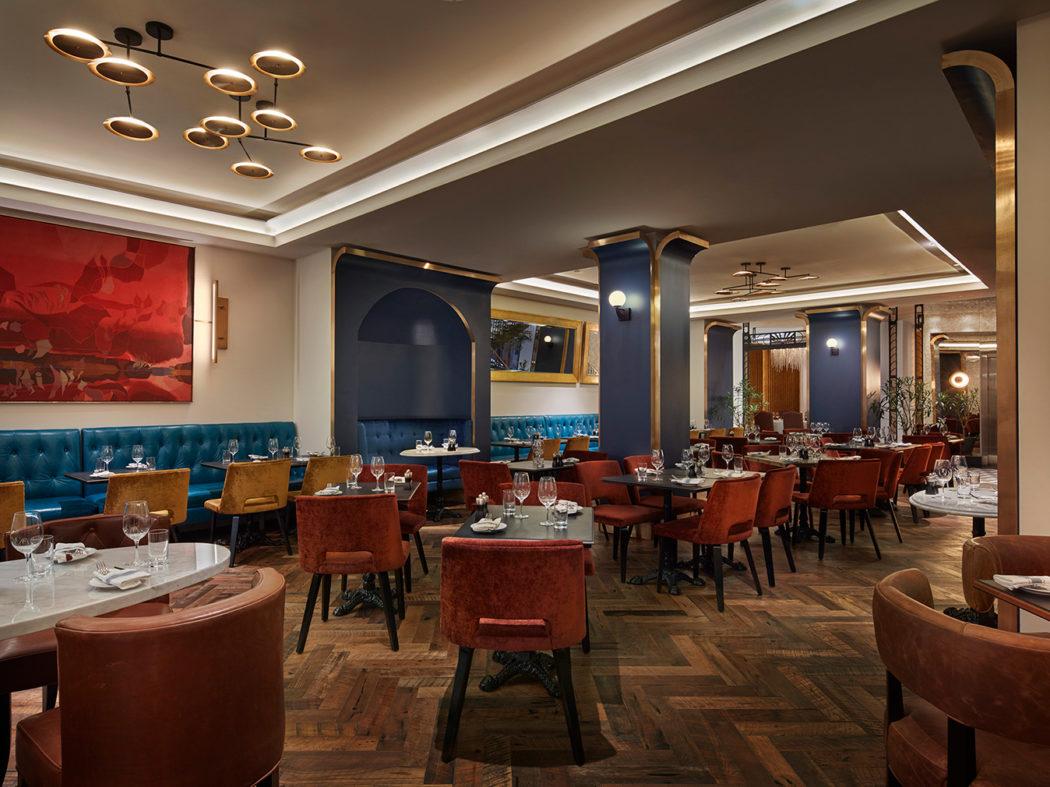 Inside leña restaurante toronto s opulent art deco dining spot
