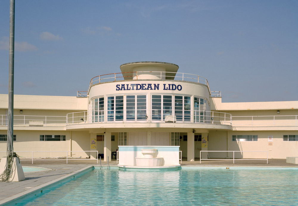 British swimming pools - Saltdean Lido, Brighton