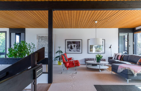 Property of the week: an architect's midcentury villa near Stockholm