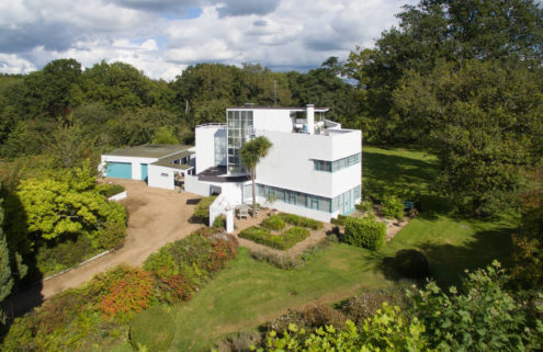 Modernist UK home designed by Amyas Connell lists for £1.55m