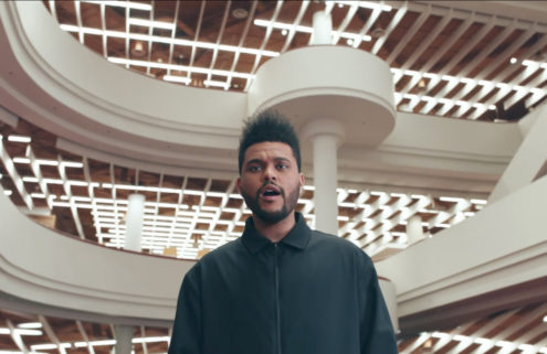 The Weeknd shoots 'Secrets' video inside Toronto landmarks