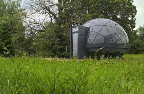 Slovenian dome-shaped tiny home costs just €20k