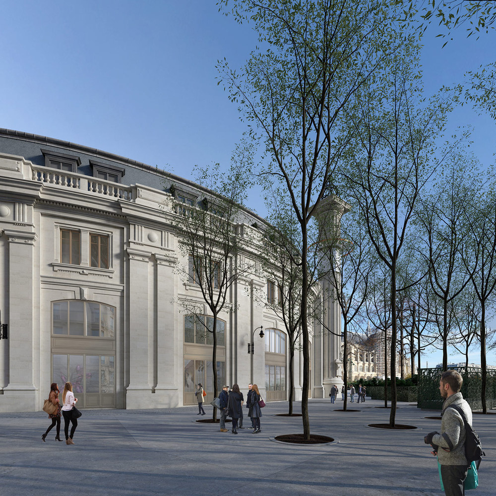 Tadao Ando will turn Paris' former stock exchange into a museum