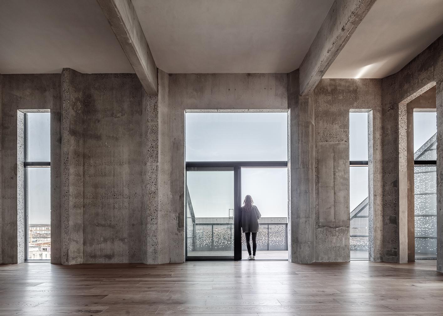The Silo apartments Copenhagen harbour