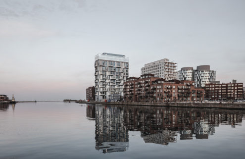 Copenhagen silo becomes contemporary apartments