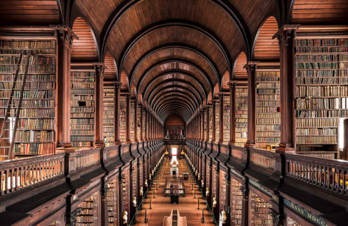 The world's most beautiful libraries captured by Thibaud Poirier