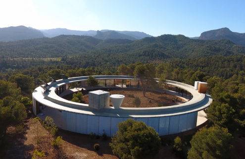 Holiday home of the week: an 'invisible' hilltop villa in Spain's Mararraña