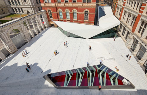The V&A's £55m Exhibition Road Quarter is a major piece of public realm for London