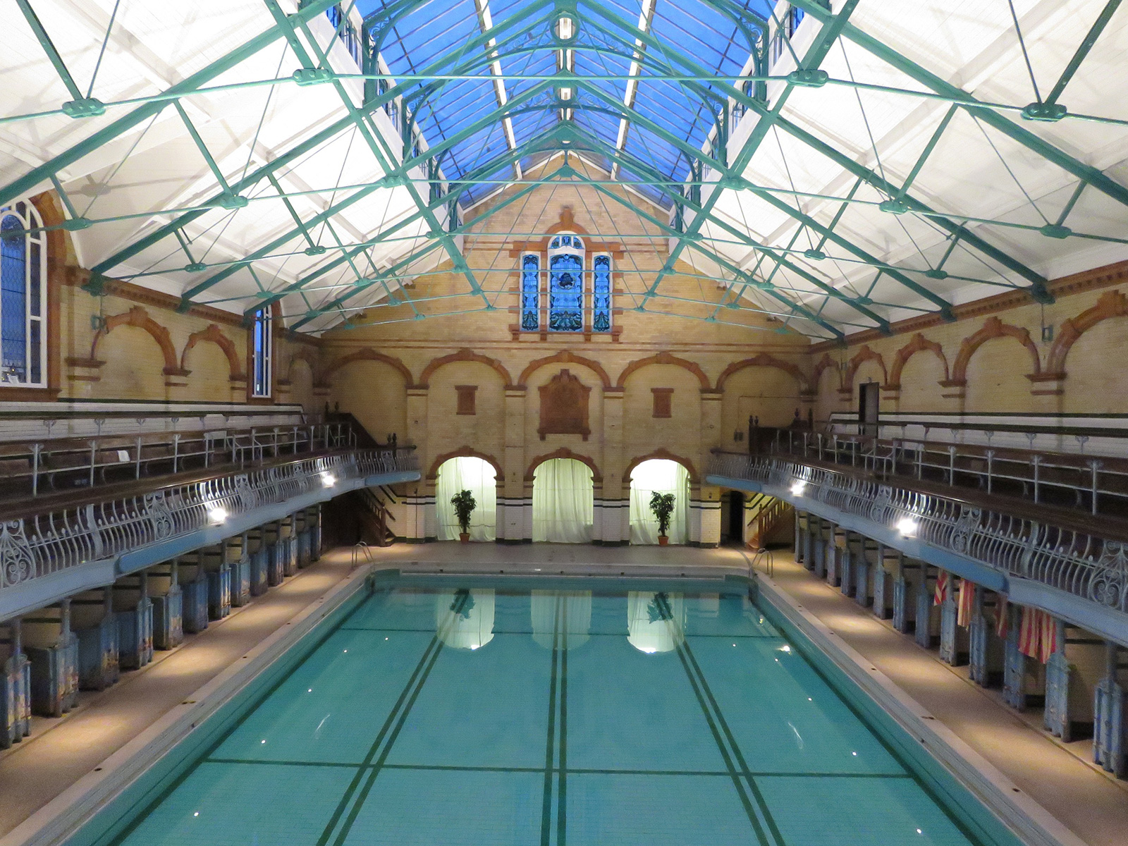 British swimming pools – Victoria Baths Manchester