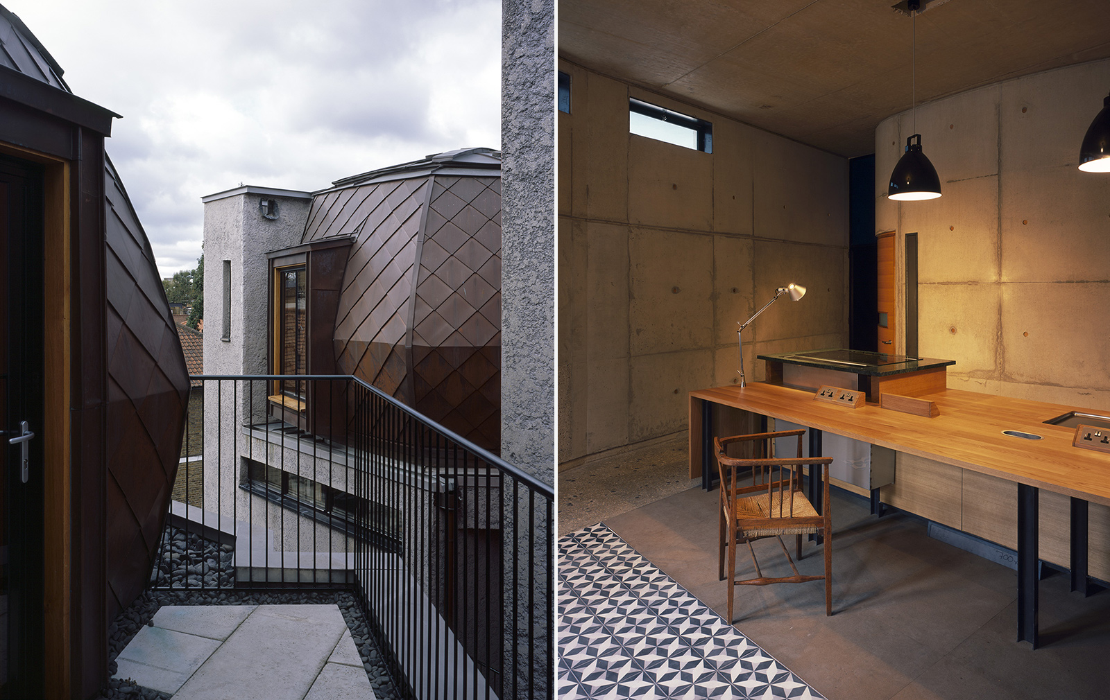 Walmer Road London by Architect Peter Salter - the most unusual London homes for sale right now