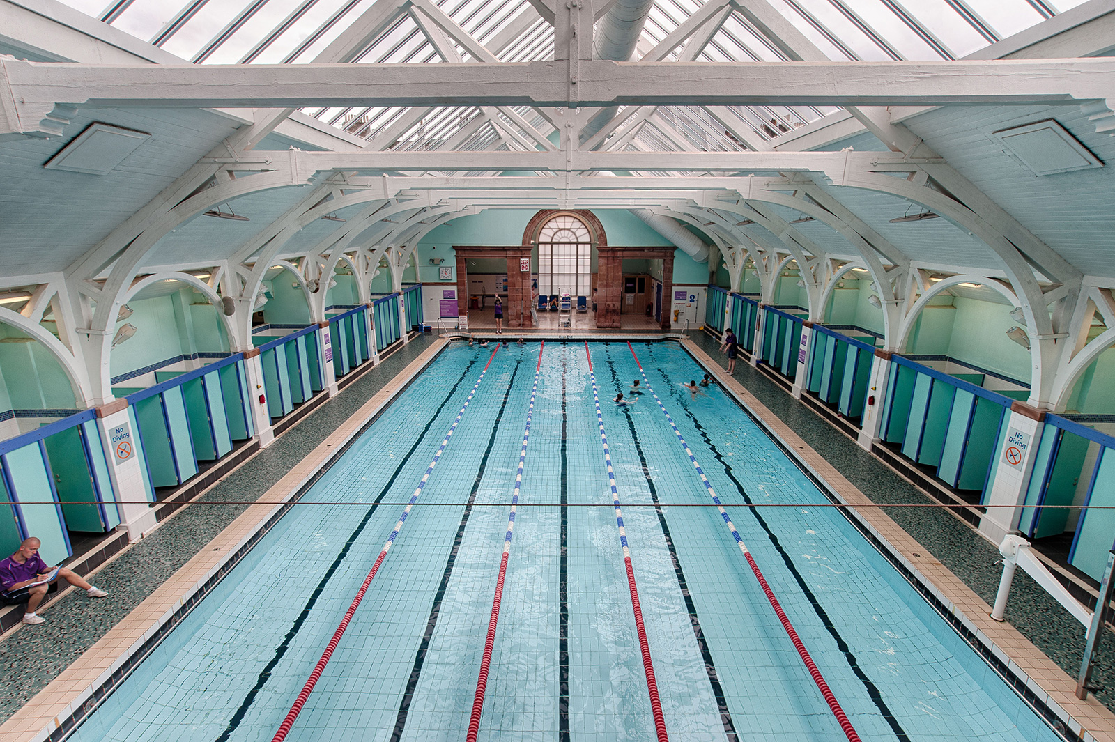 British swimming pools - Warrender pool