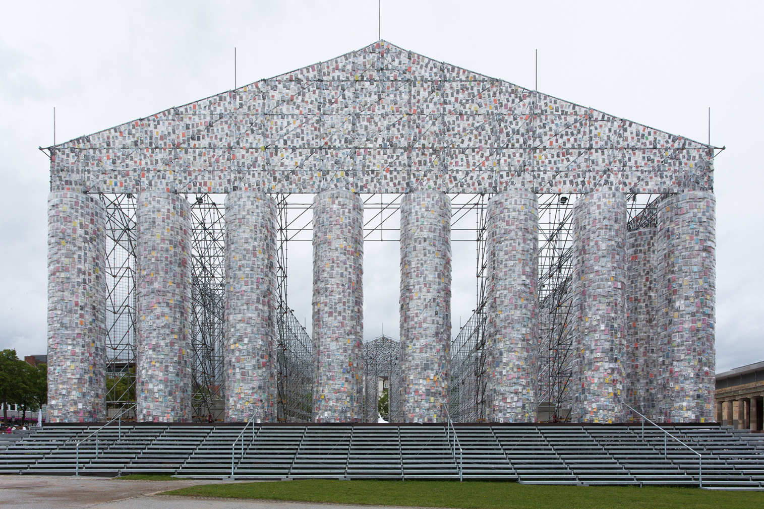 Documenta 14 highlights, including Marta Minujín's The Parthenon of Books