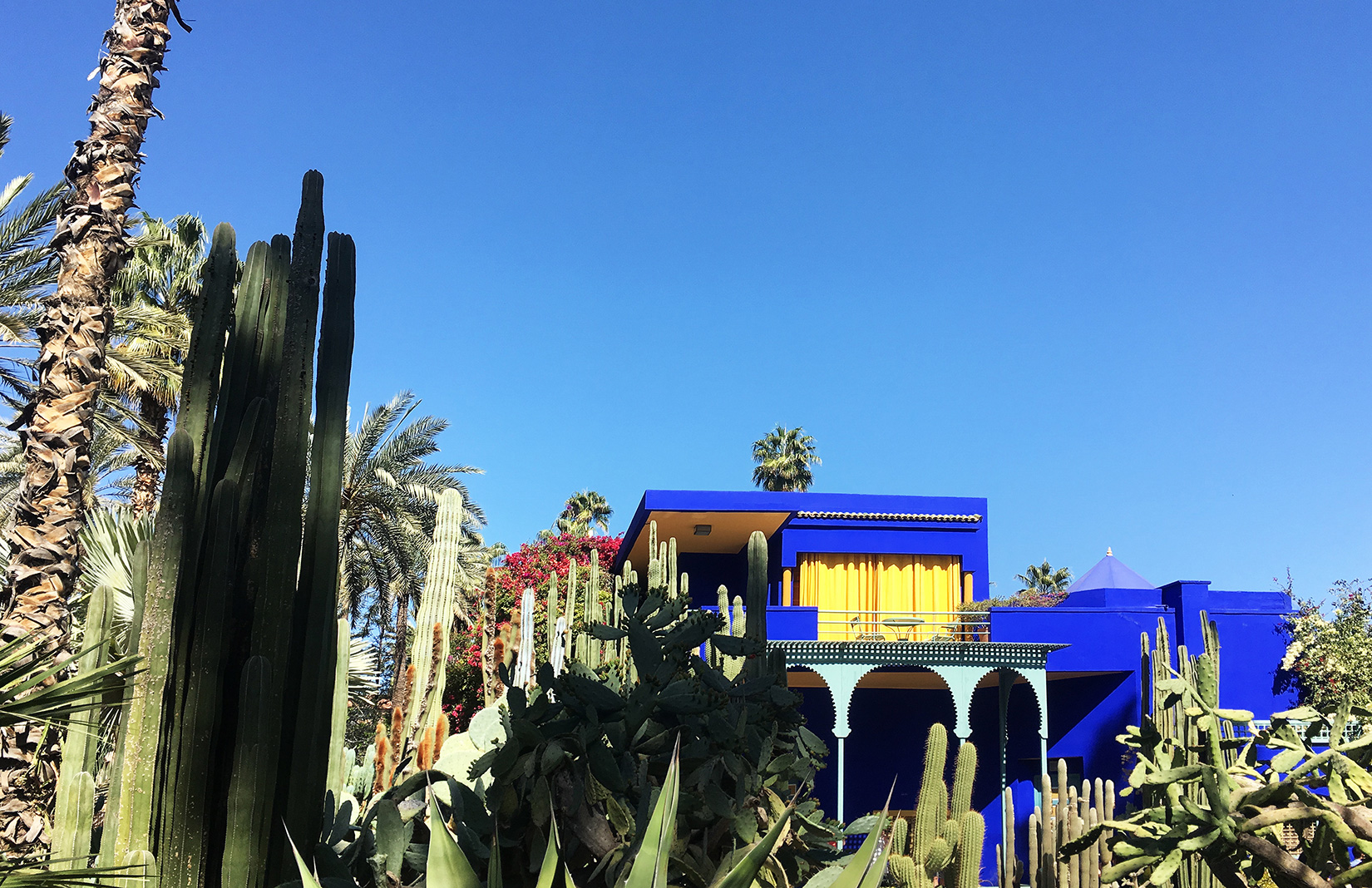Fashion designers' homes, including Yves Saint Laurent's Jardin Majorelle