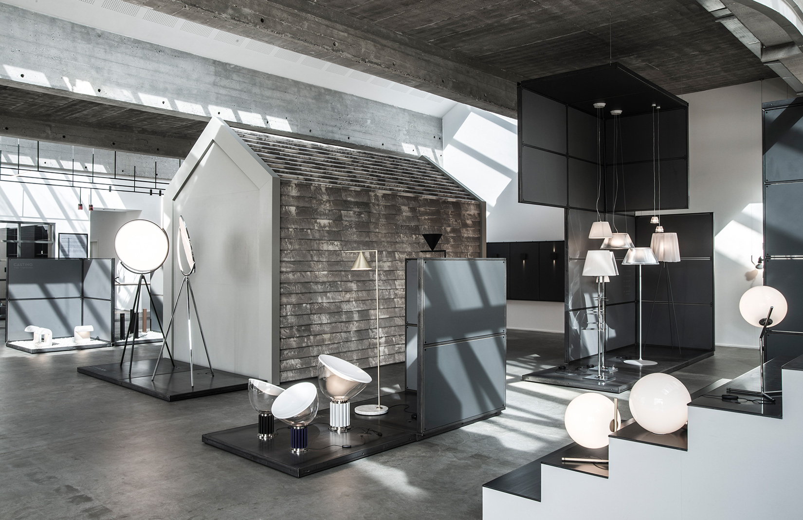 Flos Scandinavia showroom designed by OEO Studio in Copenhagen