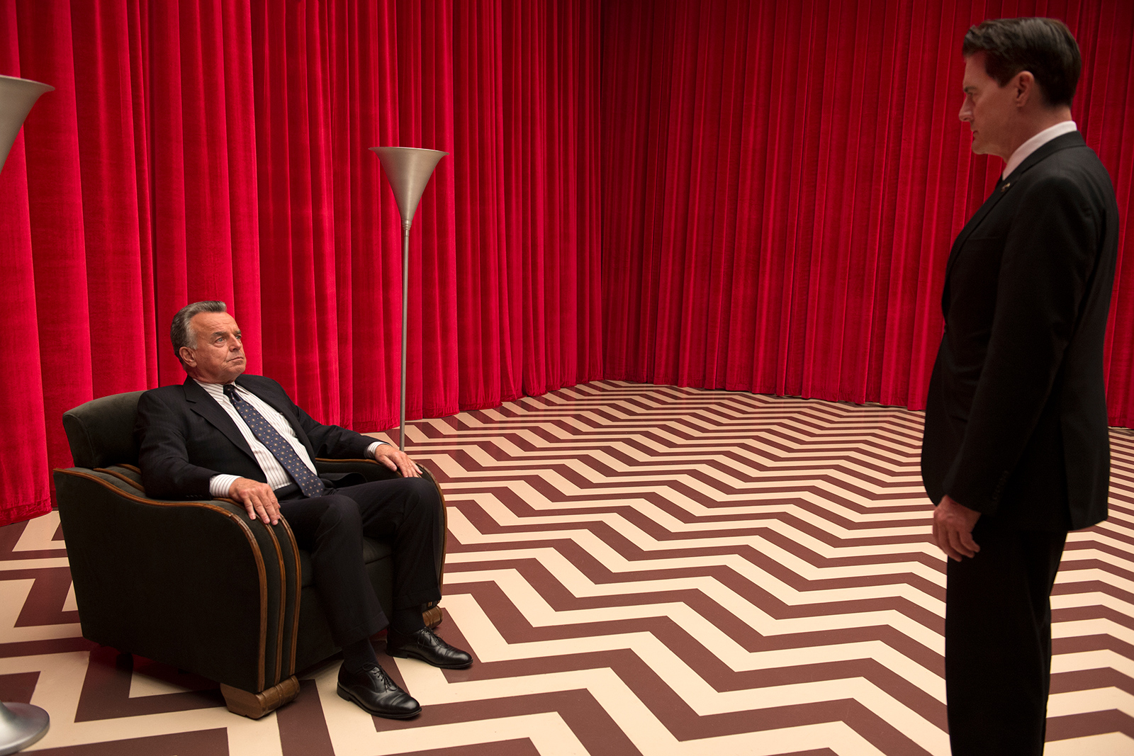 Twin Peaks Red Room set design