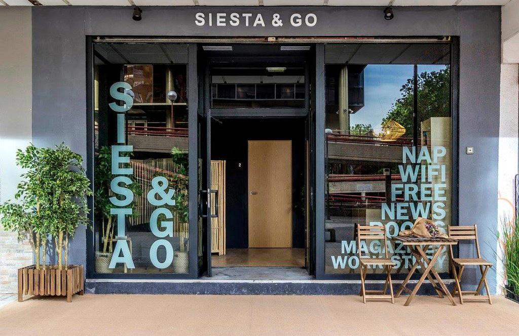 Siesta & Go nap bar