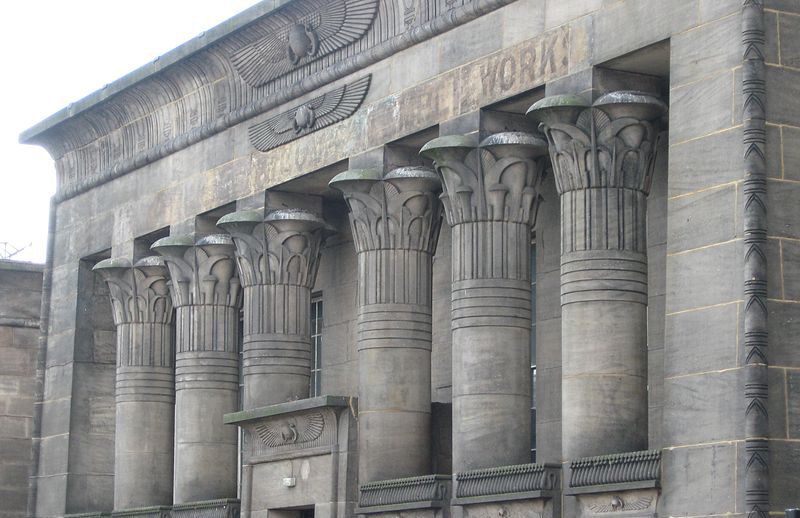 Temple Works in Leeds